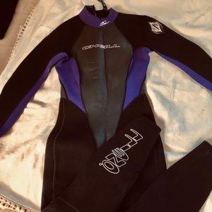 Women's wet suit